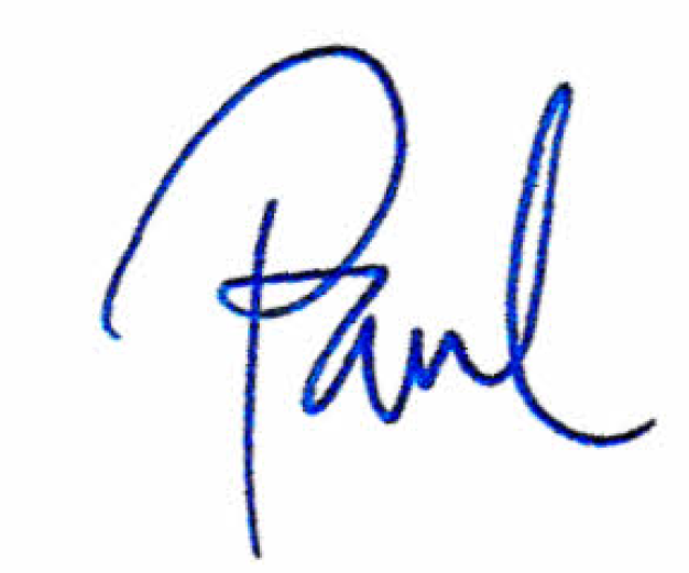 Paul Burden Signature PerformWell Contact Page