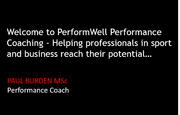 Pic - Welcome to PerformWell - Helping professionals in sport and business reach their potential 2