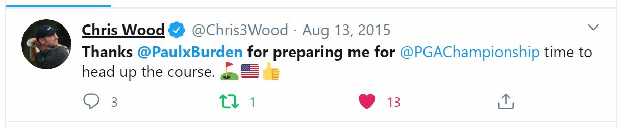 Chris Wood Golf Sport Psychologist